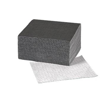 """Universalbindevlies, Tücher """"Allround-Bodenschutz"""", SMF, HW, 40 x 50 cm, schwarz-grau"""
