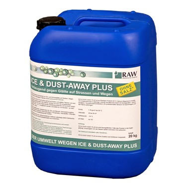 ICE & DUST-AWAY PLUS, 20 kg Kanister