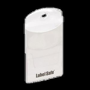 Labeltasche, klein 55 x 90 x 2 mm (LxBxH)