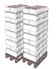 Gefahrgutverpackung - Füllstoff extover Palette 30 Sack
