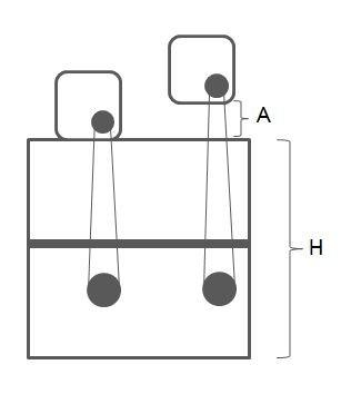 Skimmerband (100 mm), Typ 400-56 / 1.600 mm Lang