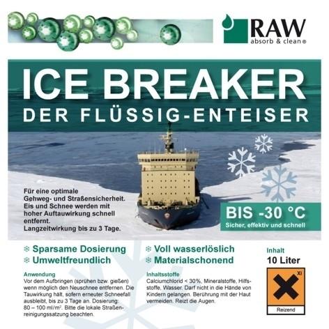 ICE BREAKER Flüssig Enteiser Palette 30 x 20 l Kanister