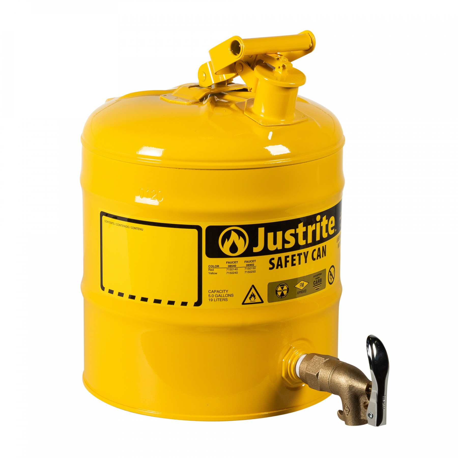 7150250_type-1-safety-can-5-gallon-yellow_justrite_1