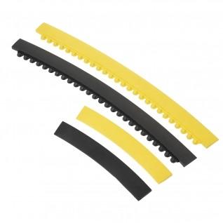 Weiblich Kurvensrampe 35 cm gelb, für Arbeitsplatzmatte durch Modular - Skywalker Ramp Nitrite-C-